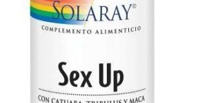 Sex up de Solaray aumenta tu líbido