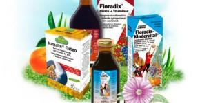 Floradix, gama de productos