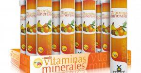 Multivitaminas + minerales efervescentes de Tegor