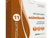 Totalvit 11 Asimilavit 28 comprimidos de Soria Natural