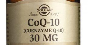 COENZIMA Q10 Solgar en envases de 30 cápsulas.