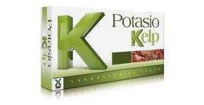 Potasio kelp en capsulas de Tegor, mantiene el equilibrio iónico del organismo