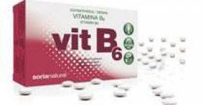 Vitamina B6 Retard de Soria Natural