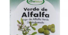 Verde de alfalfa Soria Natural, jugo deshidratado de alfalfa verde