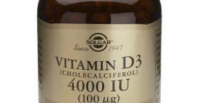 Vitamina D3 de Solgar (Colecalciferol) mantiene tus huesos y dientes