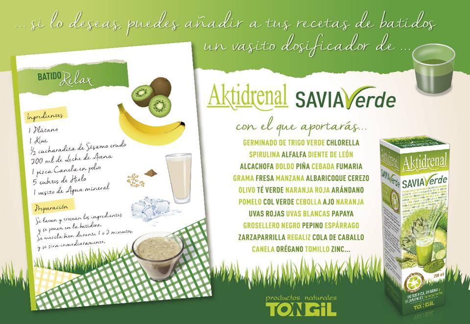 Aktidrenal Salvia de Tongil