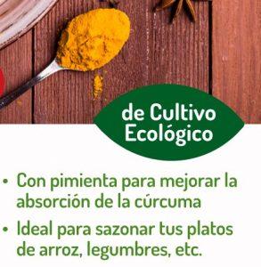 Especiero de cúrcuma + pimienta de El Granero Integral, sazona tus platos