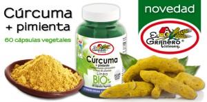 Cúrcuma + Pimienta Bio de El Granero Integral