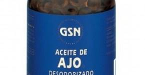 Perlas de aceite de ajo desodorizado GSN