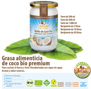 Aceite de Coco Bio Dr Goerg