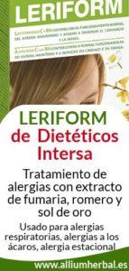 Comprar Leriform 60 cápsulas de Dietéticos Intersa