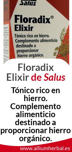 Floradix aporta hierro y vitaminas a tu dieta