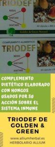 Triodef 60 cápsulas de Golden & Green