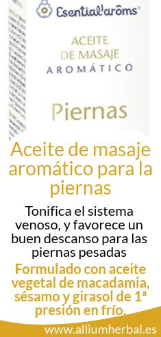 Aceite de masaje aromático para piernas 50 ml de Esential Aroms