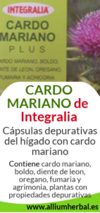 Cardo mariano plus 60 cápsulas de Integralia