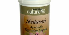 Shatavari 60 cáps de Nature4u