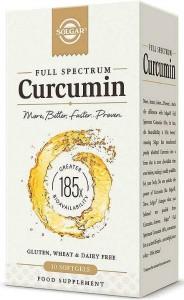 Full Spectum Curcumin (Cúrcuma) de Solgar