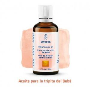 aceite tripita bebé Weleda