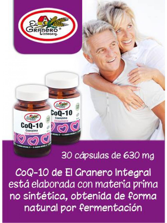 Coenzima Q-10 Granero Integral