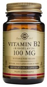Vitamina B2 como riboflavina de Solgar