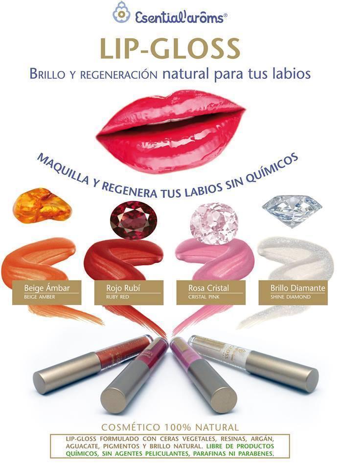 Lip-gloss de Esential'Arôms