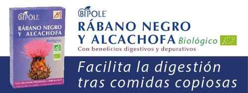 Bipole rábano negro y alcachofa