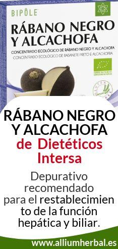 Comprar Bipole Rábano negro y alcachofa de Intersa en alliumherbal.biz