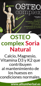 Osteocomplex Soria Natural, aporta calcio a tus huesos