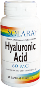 Hyaluronic Acid Solaray, cuida tu piel