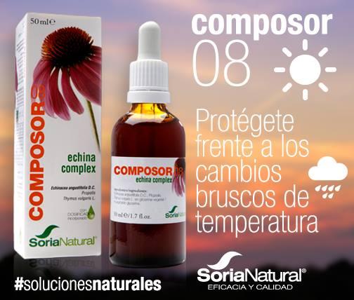 Composor 8 echina complex de Soria Natural