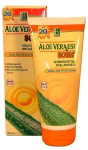 Crema solar con aloe vera factor 30 para niños de ESI