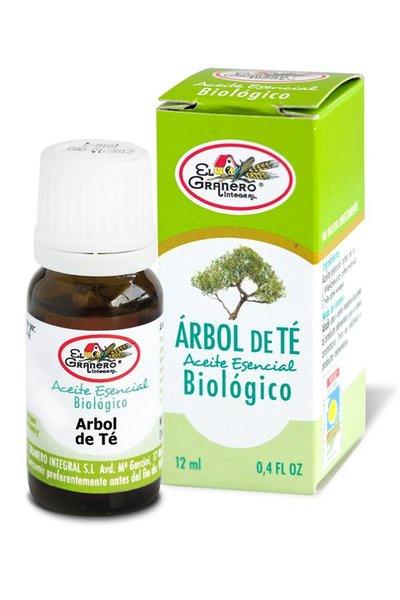 Aceite esencial de árbol de te biológico El Granero Integral