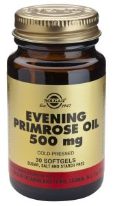 Aceite de prímula u onagra 500 mg 30 cápsulas de Solgar