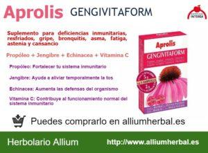 Aprolis GENGIVITAFORM 20 ampollas de Dietéticos Intersa