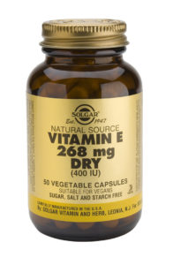 """Vitamina E """"seca"""" 400 UI (268 mg) 50 cápsulas de Solgar"""