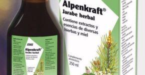 Alpenkraft jarabe Salus contribuye a la salud de las vías respiratorias.