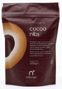 Cacao en trozos bio de Naturya, bienestar natural y energía