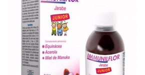 Immunilflor junior jarabe de ESI aumenta las defensas de los niños