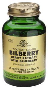 Extracto Mirtilo Estandarizado Solgar mejora tu circulación y reduce el colesterol
