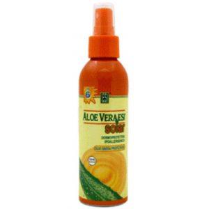 Aloe vera crema solar factor 6 spray de ESI proporciona un bronceado intenso y duradero