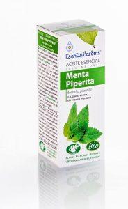 Aceite esencial de menta piperita (Mentha piperita) Esential'arôms de cultivo biológico
