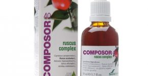 Composor 40 ruscus complex de Soria Natural y las piernas fatigadas