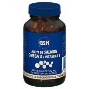 Aceite de salmón GSN con omega 3 y vitamina E