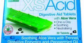 Tabletas digestivas antiacidez con Aloe vera de Evicro