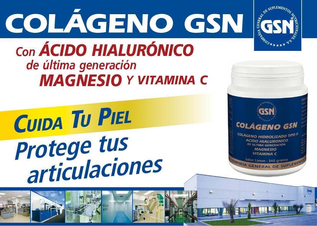 El colágeno GSN en polvo es un completo producto para el cuidado de la piel y protección de las articulaciones basado en Colágeno Hidrolizado muy rico en Hidroxiprolina (12%); Glicina (22 %) y Prolina (13 %).