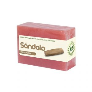 Jabon con sandalo Sol Natural