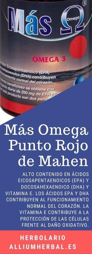 Mas omega Punto rojo 180 perlas de Mahen