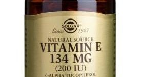 Vitamina E Solgar 200 UI (134 mg) 250 cápsulas