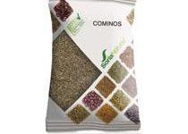 Semillas de comino Soria Natural (Cuminum cyminum L) en bolsas de 50 gramos. ayuda a la expulsión de gases, mejora la digestión y reduce flatulencias