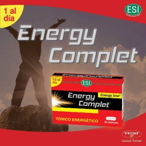Energy Complet producto energético que aporta energía inmediata a nuestro organismo